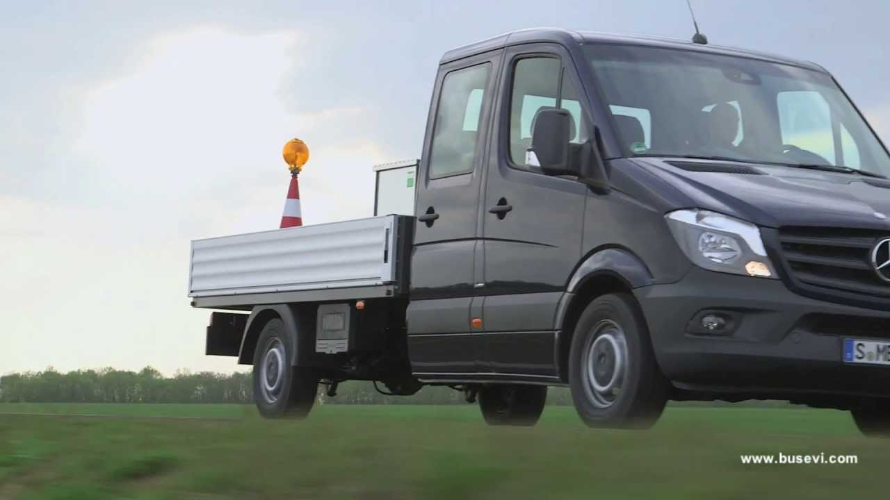 Mercedes benz sprinter 316 bluetec crew cab youtube for Mercedes benz sprinter bluetec