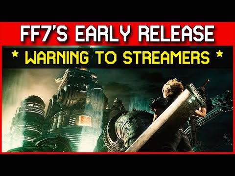 final-fantasy-7-remake---content-creators-be-warned,-square-are-laying-down-the-law!