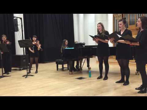 The Snow - Elgar performed by Harmoniae