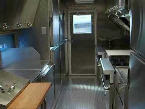 Custom Catering Truck Interior