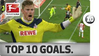 Top 10 Strange Goals - 2014/15