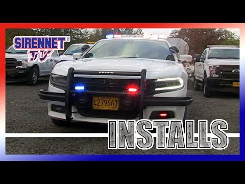 Star Cars turns a Dodge Charger Into a Police Patrol Vehicle