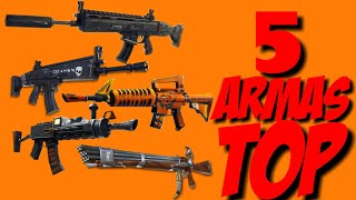 5 Best WEAPONS SAVE THE Fortnite WORLD