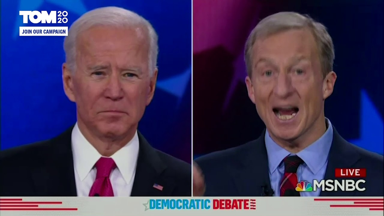 Democratic debate: Tom Steyer proposed term limits for Congress ...