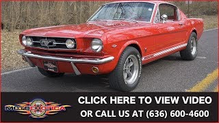 1965 Ford Mustang Fastback || For Sale