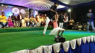 ambari and shakuntle sikkalu song [naduve antaraverali ] super n simple moves
