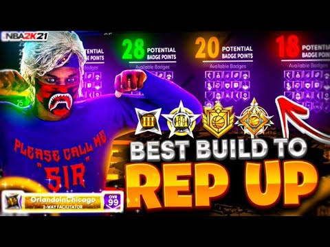 The Best 7 3 Center Build In Next Gen Nba 2k21 Youtube