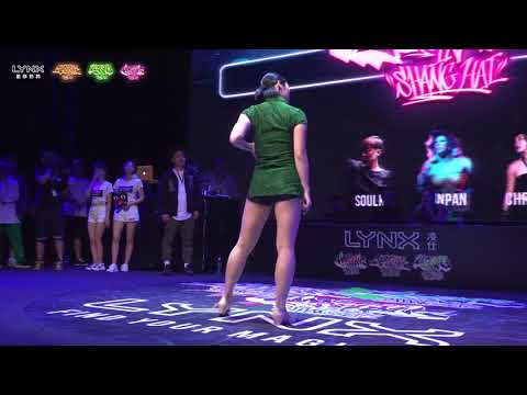 LIP J & 小敏 VS MAYA & YUNJI Waacking Quarity Final 2017BIS