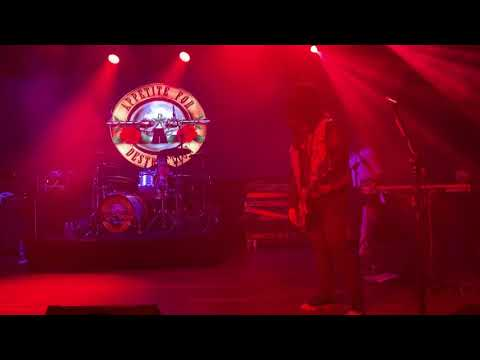 Appetite for Destruction Guns N' Roses tribute band Don't Cry Club XL Live 2/22/20 Harrisburg, PA
