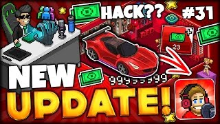 BRAND NEW TUBER SIMULATOR UPDATE w/ NEW ITEMS, CAR AND MAYBE HACK?! (PewDiePie Tuber Simulator #31)
