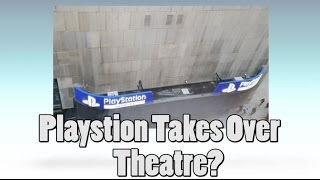 Sony Playstation Takes Over A New York City Theater?!