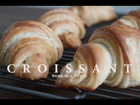 French Croissants using Vegan Aquafaba Butter | Sensible Plate