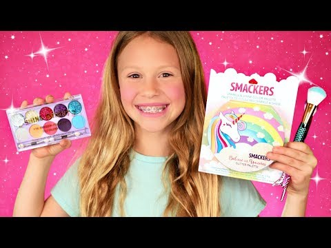 Using ONLY Kids Makeup! Review and Spring Makeup Tutorial