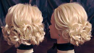 Причёска на 3 хвостах   Авторские причёски   Лена Роговая   Hairstyles by REM   Copyright ©