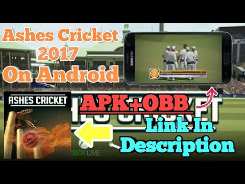 How To Download Ashes Cricket 2017 On Android || APK +OBB ||