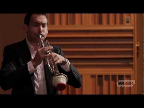 """WGBH Music: Trumpeter Paul Merkelo plays Enesco's """"Legend"""""""