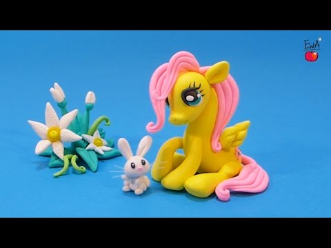Fluttershy - Polymer Clay Tutorial By Let's Clay With Ewa