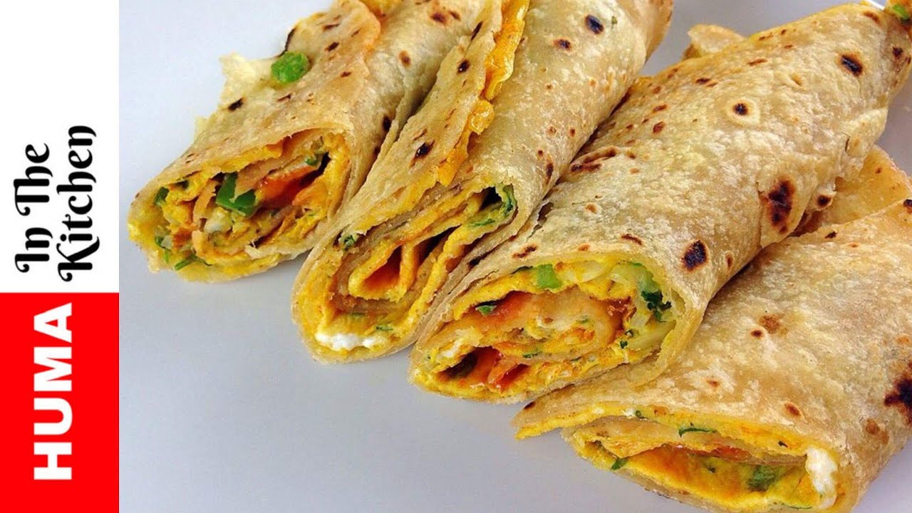 Chapati Egg Rolls Recipe Kids Lunch Box Recipes By Huma In The Kitchen