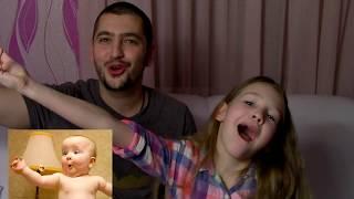 Хочешь Посмеяться? / Попробуй  Повтори ЭМОЦИИ / Саша против Папы / Смешное видео для детей /