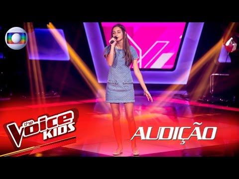 Marcela Morais canta 'Flor e o Beija-Flor' na Audição –  The Voice Kids Brasil | 2ª Temporada