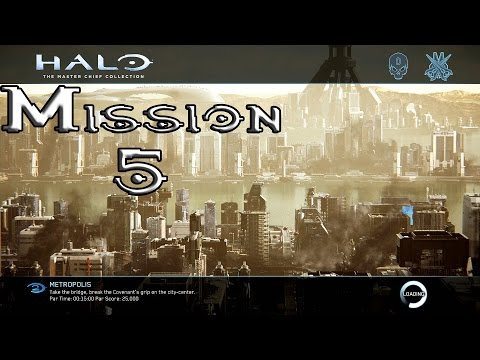 Halo 2 Anniversary - Metropolis - Mission 5 (1080p60fps) Xbox One MCC