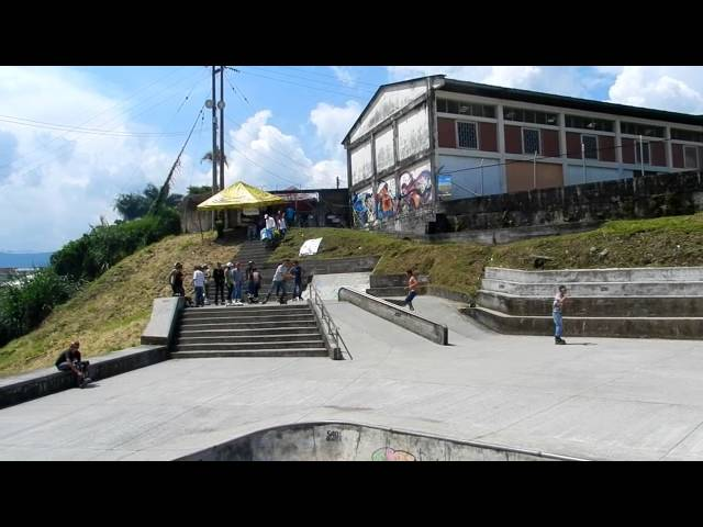 Torneo Roller Extremo. Chinchina Colombia 2013. Videos De Viajes