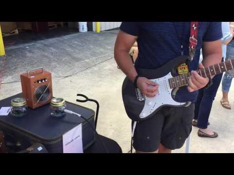 NizzyAmps Jelly Amp - A Guitar Amp in a Jelly Jar!
