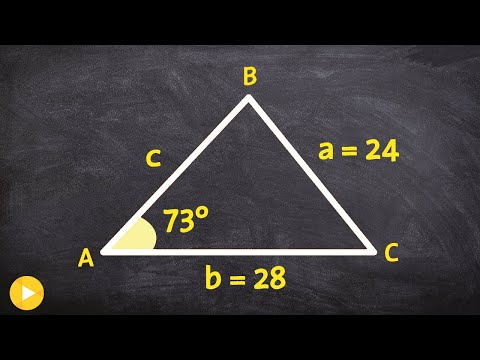 How to determine if you have 0,1 or 2 triangles for the ambiguous case