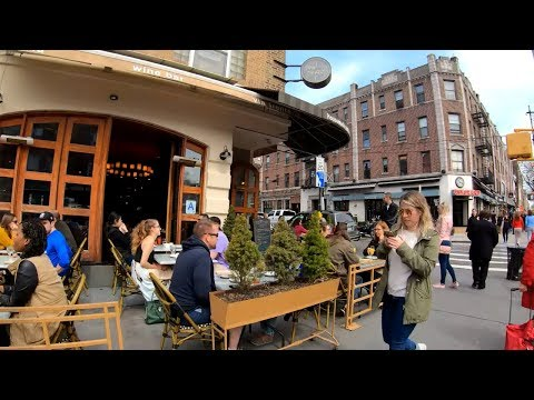 ⁴ᴷ⁶⁰ Walking NYC (Narrated) : 30th Avenue, Astoria, Queens in its Entirety (April 7, 2019)