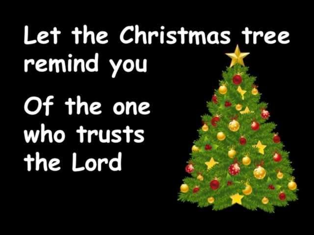 Christ the King of Christmas with lyrics