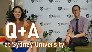 Q&A at Sydney University   Arts & Social Sciences Livestream