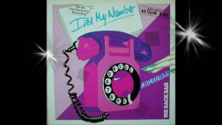 The Back Bag-Dial My Number