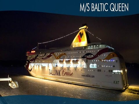 Ship Journey: Helsinki-Tallinn (Night) on MS Baltic Queen