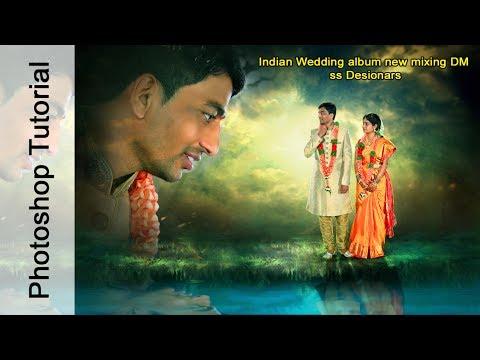 Indian Wedding album Designing Photoshop Tutorial ss Designers