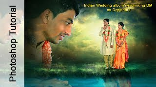 FREE PSD download #Indian Wedding album Designing Photoshop Tutorial ss Designers [ss free psd]