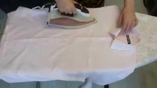 Погладить рубашку. Как погладить рубашку и правильно сложить(Погладить и сложить рубашку. В данном видео подробно показано как погладить рубашку и правильно сложить...., 2013-06-12T03:51:42.000Z)