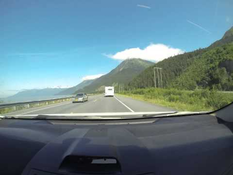 Driving in Alaska: Whittier to Anchorage