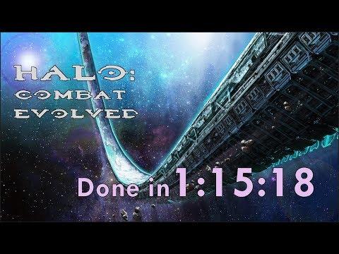 Halo: CE Legendary Speedrun in 1:15:18