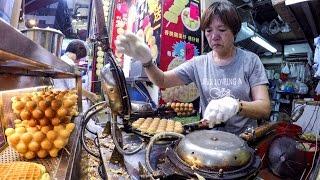Hong Kong Night Walk in Mong Kok. Markets, Street Food, Musicians, Magicians and More thumbnail