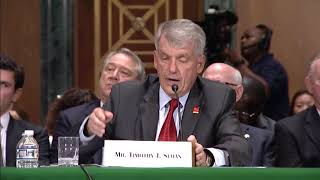 Senator Warren Questions Wells Fargo CEO Tim Sloan on Scams Against Consumers