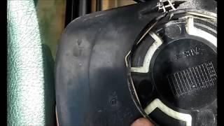 Как снять боковое(наружные) зеркало и зеркальный элемент Пежо 406