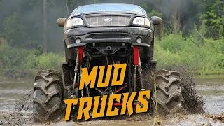 TRUCK MUD BOGS!! - The Canadian rednecks know how to SEND IT!!