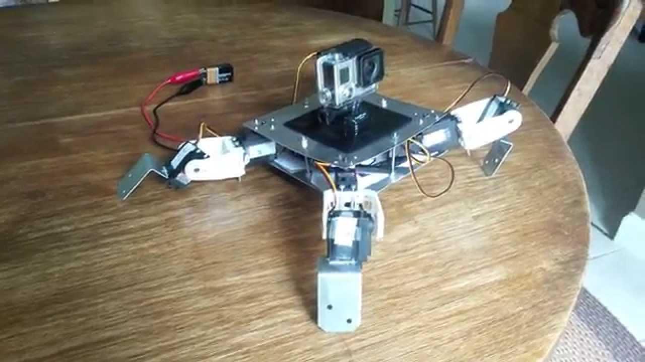 Hermes arduino based quadruped walker youtube