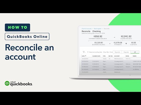 How to Reconcile an Account: Statements & Records, & More | QuickBooks Online US Tutorial 2018