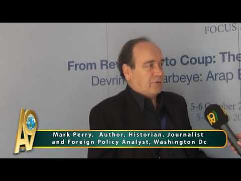 Mark Perry, Author, Historian, Journalist and Foreign Policy Analyst,...