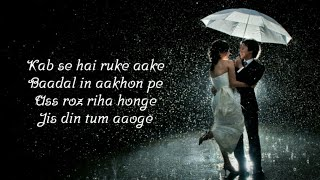 Download song Jis Din Tum Aaoge Full Song  (Lyrics) ▪ Soham Naik ▪ Anurag Saikia ▪ Kunaal Vermaa ▪ Vatshal, Garima