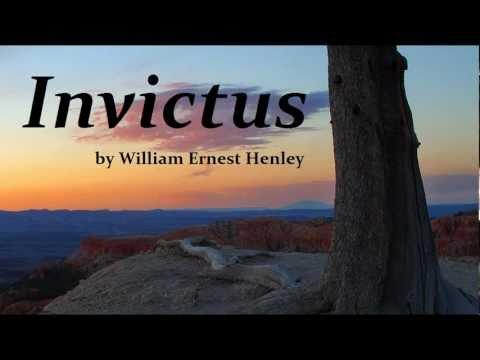 INVICTUS - Inspirational Poem - by William Ernest Henley - FULL Short Poem AudioBook   Poetry