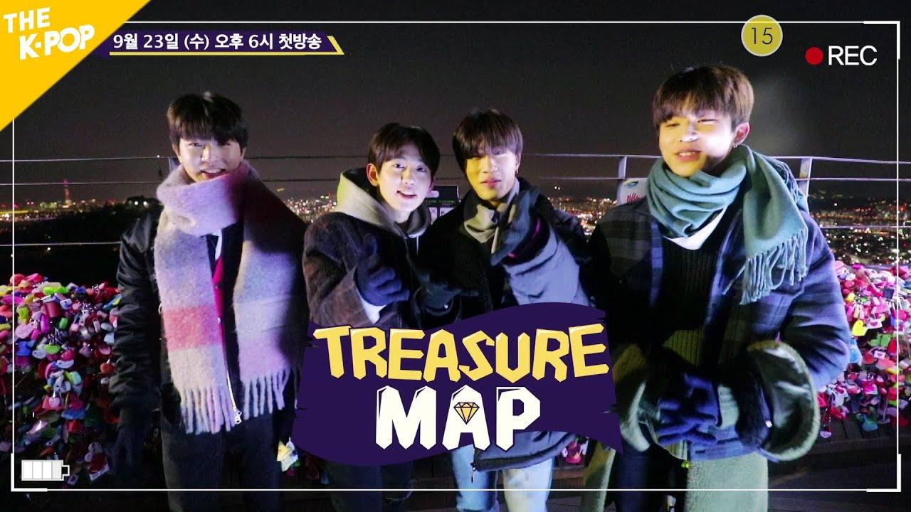 [SPOT] TREASURE MAP is found! 빛나는 보석함! 트레저맵