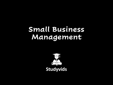 N0906H  Small Business Management