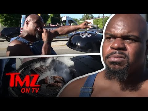 Ex-NFL Star Upset With LA Restaurant Portions, Cooks Own BBQ Outside   TMZ